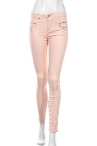 Дамски панталон ONLY, Размер S, Цвят Розов, 75% памук, 23% полиестер, 2% еластан, Цена 12,08лв.