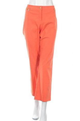 Дамски панталон Paola, Размер XL, Цвят Оранжев, 73% вискоза, 23% полиамид, 4% еластан, Цена 24,15лв.