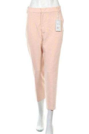 Дамски панталон Part Two, Размер L, Цвят Розов, 72% полиестер, 22% вискоза, 6% еластан, Цена 63,07лв.