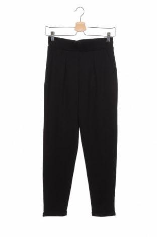 Γυναικείο παντελόνι Pieces, Μέγεθος XS, Χρώμα Μαύρο, 78% πολυεστέρας, 19% βισκόζη, 3% ελαστάνη, Τιμή 19,77€
