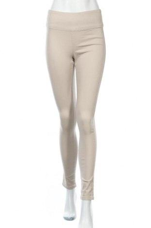Дамски панталон Pieces, Размер S, Цвят Бежов, 97% памук, 3% еластан, Цена 11,81лв.