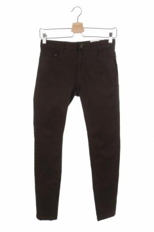 Дамски панталон Pimkie, Размер XS, Цвят Зелен, 83% памук, 14% полиестер, 3% еластан, Цена 8,58лв.