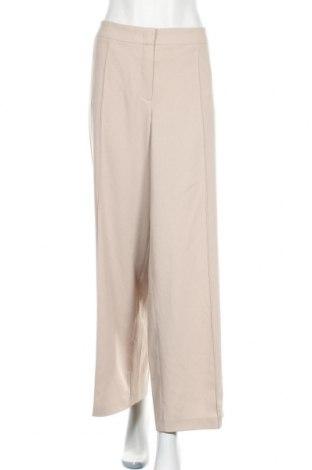 Дамски панталон Portray Berlin, Размер XL, Цвят Бежов, 66% полиестер, 28% вискоза, 6% еластан, Цена 43,79лв.