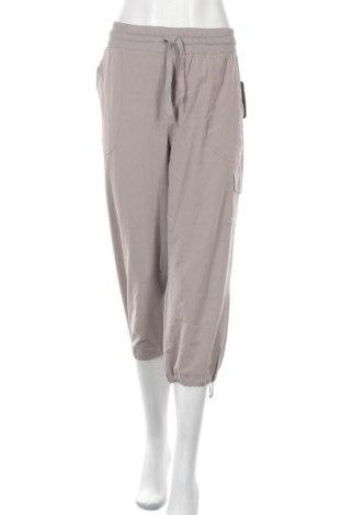 Дамски панталон Rbx, Размер XL, Цвят Сив, 92% полиестер, 8% еластан, Цена 36,02лв.
