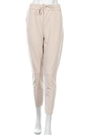 Γυναικείο παντελόνι Reserve, Μέγεθος L, Χρώμα  Μπέζ, 95% πολυεστέρας, 5% ελαστάνη, Τιμή 18,84€
