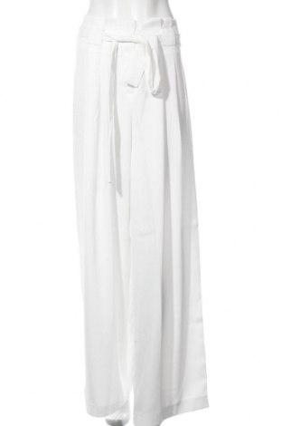 Дамски панталон River Island, Размер XL, Цвят Бял, Полиестер, Цена 59,25лв.
