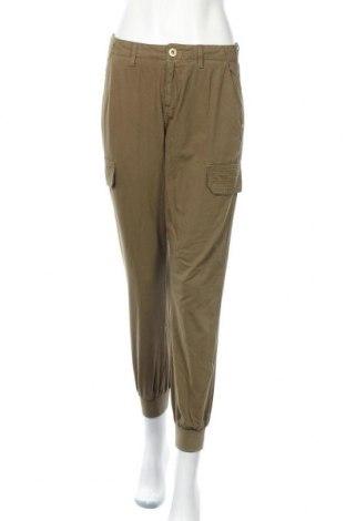 Дамски панталон River Island, Размер M, Цвят Зелен, 100% памук, Цена 26,91лв.
