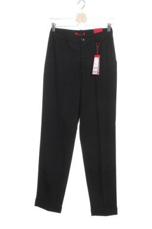 Dámské kalhoty  S.Oliver, Velikost XS, Barva Černá, 72% polyester, 25% viskóza, 3% elastan, Cena  1043,00Kč