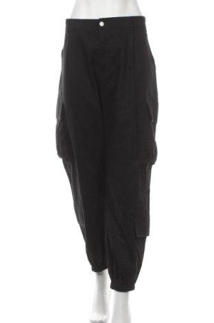 Дамски панталон SHEIN, Размер XL, Цвят Черен, 95% полиестер, 5% еластан, Цена 29,40лв.