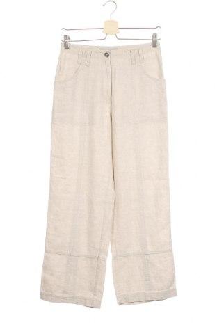 Дамски панталон Sandwich_, Размер XS, Цвят Сив, 55% лен, 45% полиестер, Цена 21,84лв.