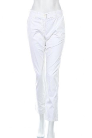 Дамски панталон Siste's, Размер M, Цвят Бял, 97% памук, 3% еластан, Цена 9,99лв.