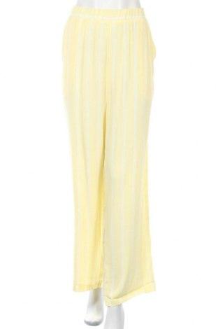 Дамски панталон Sparkz, Размер XL, Цвят Жълт, Вискоза, Цена 40,30лв.