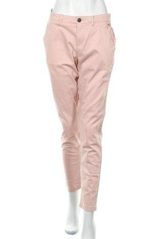 Dámské kalhoty  Superdry, Velikost L, Barva Růžová, 98% bavlna, 2% elastan, Cena  1728,00Kč