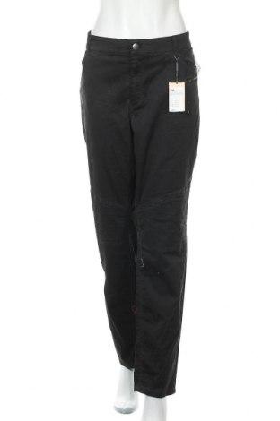 Дамски панталон Triangle By s.Oliver, Размер 3XL, Цвят Сив, 98% памук, 2% еластан, Цена 97,30лв.