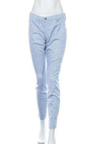 Дамски панталон United Colors Of Benetton, Размер L, Цвят Син, 67% памук, 30% полиестер, 3% еластан, Цена 28,35лв.