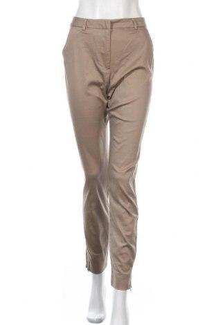 Дамски панталон Vero Moda, Размер S, Цвят Кафяв, 65% памук, 33% полиестер, 2% еластан, Цена 23,77лв.