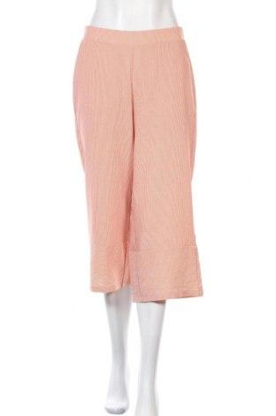 Dámské kalhoty  Vero Moda, Velikost S, Barva Oranžová, 55% polyester, 35% viskóza, 10% polyamide, Cena  706,00Kč