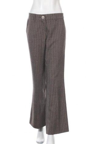 Дамски панталон Vila, Размер M, Цвят Сив, 93% полиестер, 7% вискоза, Цена 10,29лв.