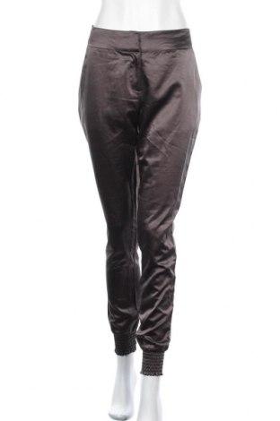 Дамски панталон Vila, Размер M, Цвят Сив, 97% полиестер, 3% еластан, Цена 7,09лв.