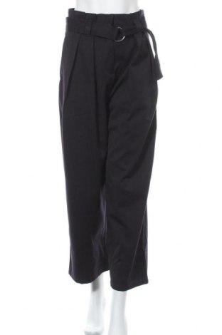 Дамски панталон Weekday, Размер S, Цвят Син, 76% полиестер, 14% вискоза, 10% вълна, Цена 42,14лв.