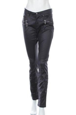 Дамски панталон Woman By Tchibo, Размер M, Цвят Син, 98% памук, 2% еластан, Цена 13,20лв.