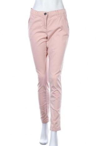 Дамски панталон Woman By Tchibo, Размер M, Цвят Розов, 97% памук, 3% еластан, Цена 6,93лв.
