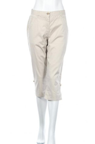 Дамски панталон Women by Tchibo, Размер M, Цвят Бежов, 98% памук, 2% еластан, Цена 4,60лв.
