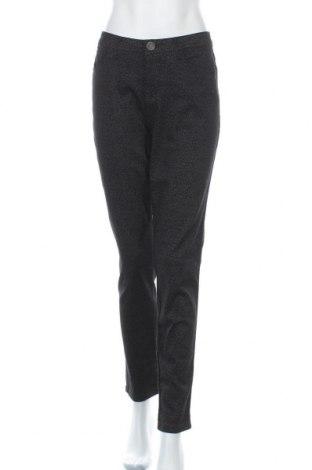 Дамски панталон Yessica, Размер L, Цвят Сив, 75% памук, 23% полиестер, 2% еластан, Цена 24,94лв.