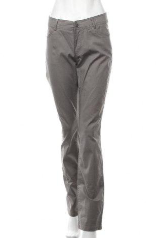 Дамски панталон Zabaione, Размер L, Цвят Сив, 94% памук, 6% еластан, Цена 10,29лв.
