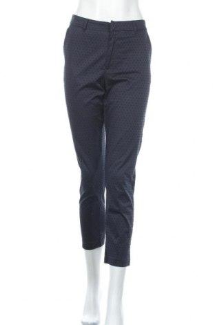 Дамски панталон Zabaione, Размер M, Цвят Син, 97% памук, 3% еластан, Цена 28,35лв.