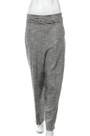 Дамски панталон Zara, Размер L, Цвят Сив, Цена 25,20лв.