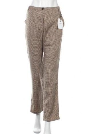 Γυναικείο παντελόνι Zeze, Μέγεθος L, Χρώμα Πολύχρωμο, 62% πολυεστέρας, 35% βισκόζη, 3% ελαστάνη, Τιμή 20,36€