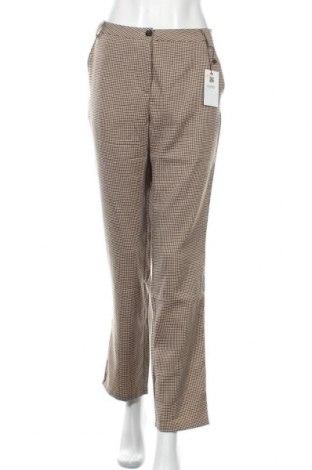 Γυναικείο παντελόνι Zeze, Μέγεθος L, Χρώμα Πολύχρωμο, 62% πολυεστέρας, 35% βισκόζη, 3% ελαστάνη, Τιμή 24,68€