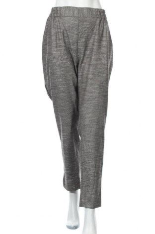 Дамски панталон Zizzi, Размер XXL, Цвят Сив, 50% вискоза, 48% полиестер, 1% метални нишки, 1% еластан, Цена 73,71лв.