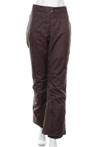 Дамски панталон за зимни спортове Alpinetek, Размер XL, Цвят Кафяв, 100% полиестер, Цена 22,05лв.