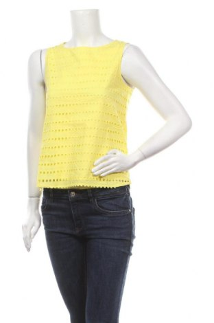Дамски потник Esprit, Размер XS, Цвят Жълт, Памук, Цена 40,50лв.