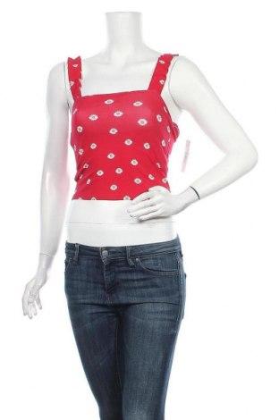 Γυναικείο αμάνικο μπλουζάκι Hollister, Μέγεθος S, Χρώμα Κόκκινο, 95% βαμβάκι, 5% ελαστάνη, Τιμή 9,38€