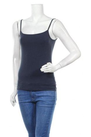 Γυναικείο αμάνικο μπλουζάκι Mexx, Μέγεθος S, Χρώμα Μπλέ, 95% βαμβάκι, 5% ελαστάνη, Τιμή 8,44€
