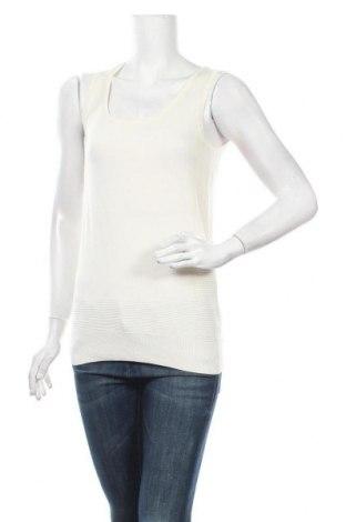 Γυναικείο αμάνικο μπλουζάκι Mexx, Μέγεθος XS, Χρώμα Εκρού, 74% βισκόζη, 26% πολυαμίδη, Τιμή 3,86€