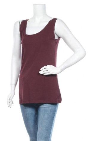 Дамски потник Modstrom, Размер XL, Цвят Червен, 48% памук, 48% модал, 4% еластан, Цена 13,65лв.