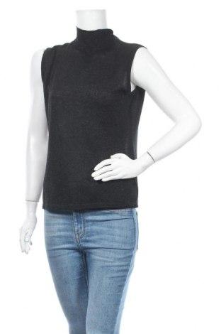 Γυναικείο πουλόβερ Anne L., Μέγεθος M, Χρώμα Μαύρο, 76% βισκόζη, 16% πολυεστέρας, 8% μεταλλικά νήματα, Τιμή 18,19€