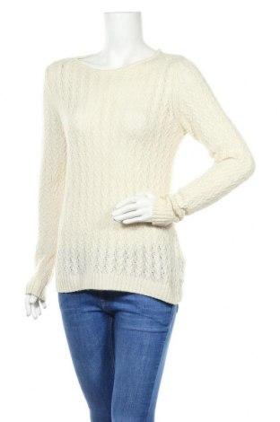 Дамски пуловер Boss Orange, Размер M, Цвят Екрю, 44% полиамид, 34% вълна от алпака, 22% вълна, Цена 98,00лв.