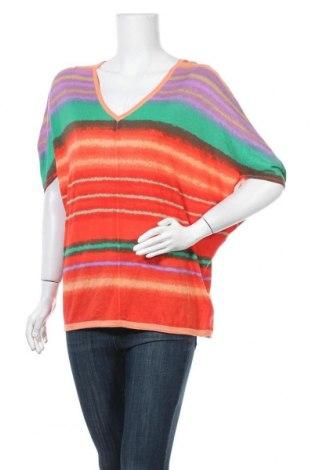 Γυναικείο πουλόβερ Comma,, Μέγεθος L, Χρώμα Πολύχρωμο, 60% βισκόζη, 40% βαμβάκι, Τιμή 25,92€