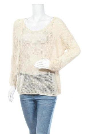 Γυναικείο πουλόβερ Double Zero, Μέγεθος M, Χρώμα  Μπέζ, Ακρυλικό, Τιμή 17,54€