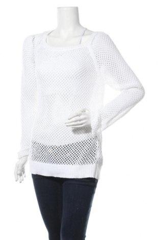 Γυναικείο πουλόβερ Esmara, Μέγεθος M, Χρώμα Λευκό, Βαμβάκι, Τιμή 14,94€