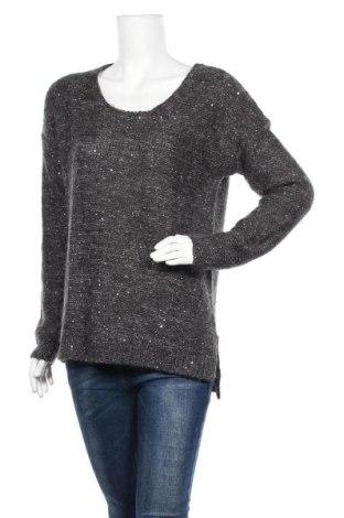 Дамски пуловер Esprit, Размер L, Цвят Сив, 47% полиестер, 29% акрил, 18% полиамид, 6% мохер, Цена 10,13лв.