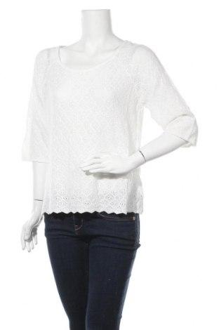 Γυναικείο πουλόβερ H&M, Μέγεθος L, Χρώμα Λευκό, 50% βαμβάκι, 50%ακρυλικό, Τιμή 16,66€