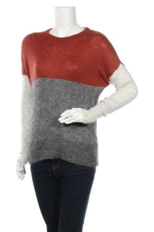 Дамски пуловер Part Two, Размер XS, Цвят Сив, 35% вълна, 3% мохер, 32% полиамид, Цена 9,28лв.