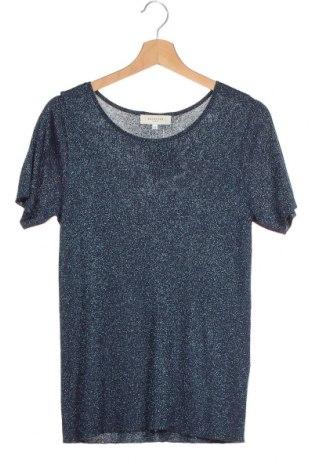 Γυναικείο πουλόβερ Selected Femme, Μέγεθος XS, Χρώμα Μπλέ, 80% βισκόζη, μεταλλικά νήματα, Τιμή 14,19€