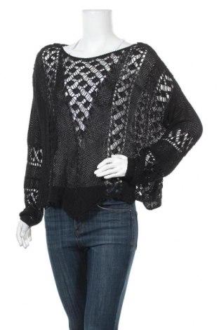 Γυναικείο πουλόβερ Zara Knitwear, Μέγεθος M, Χρώμα Μαύρο, 60% βαμβάκι, 40% πολυαμίδη, Τιμή 25,92€